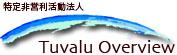 特定非営利活動法人 Tuvalu Overview(ツバルオーバービュー)