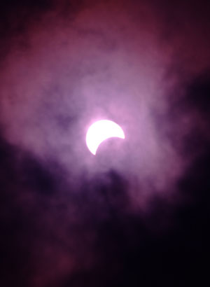 部分日食 その1